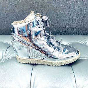 SUPER RARE! Nike SILVER MIRROR Sky High AG Sneaker